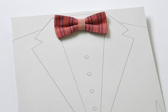 Men's bow tie. Bow tie for men. Wedding bow tie. Groom bow tie by Winged bow ties