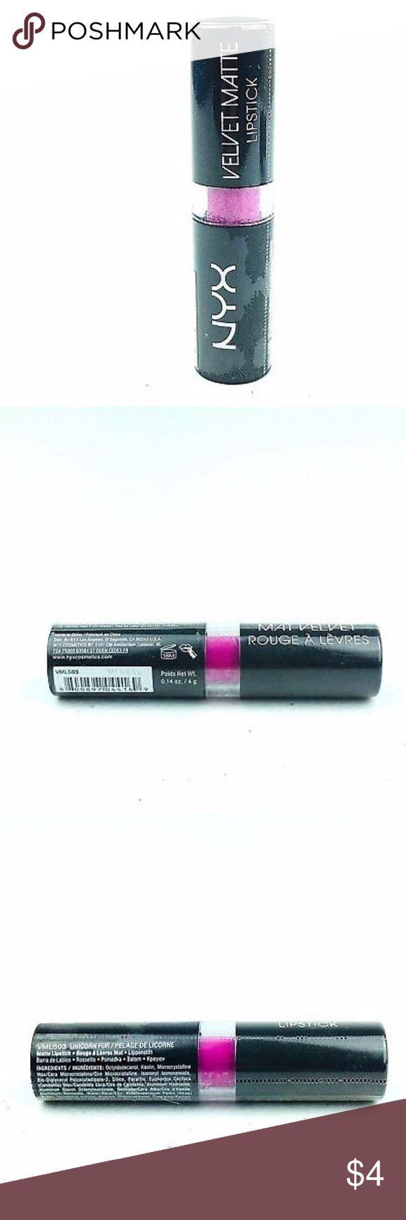 NYX Velvet Matte Lippenstift Einhorn Pink NYX Velvet Matte Lippenstift VMLS03 Einhorn … – Gesicht Schönheit