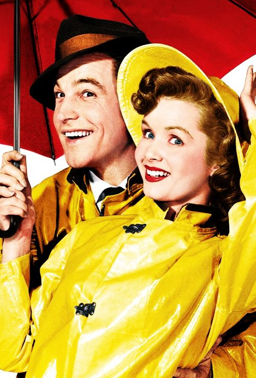 Gene Kelly and Debbie Reynolds for Singin' in the Rain (1952)