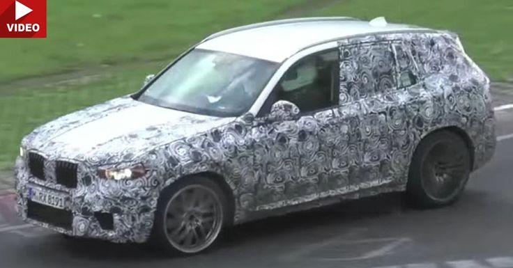 Meaner BMW X3 Caught On The Nurburgring, Sounds Like The Upcoming M Version #BMW_Scoops #BMW_Videos