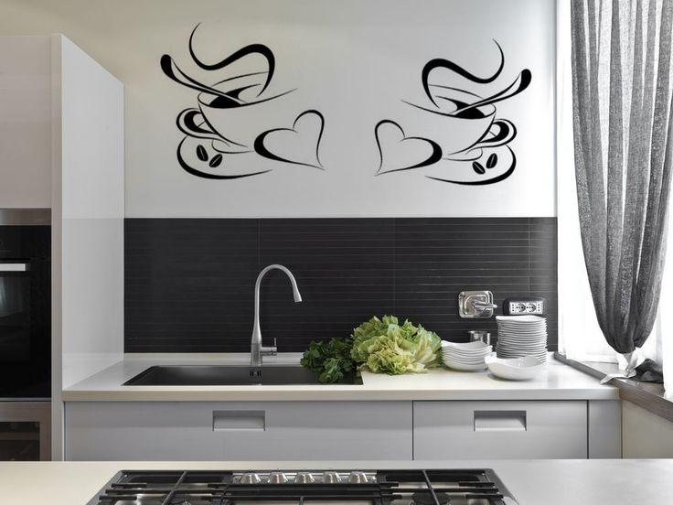 Best Decals Images On Pinterest Vinyls Decals And Kitchen Walls - Custom vinyl wall decals for kitchen backsplash
