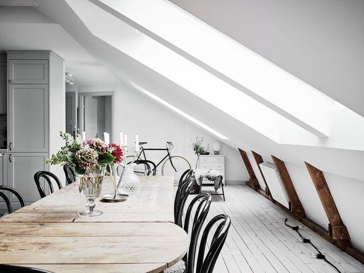 Un espectacular y confortable ático en Gotemburgo