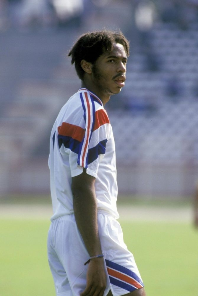 A Younger Thierry Henry.