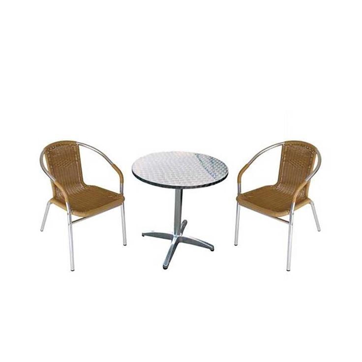 Bistro Sitzgruppe für Garten Alu (3-teilig) Jetzt bestellen unter: https://moebel.ladendirekt.de/garten/gartenmoebel/gartenmoebel-set/?uid=0b56661f-b764-5e6c-b4d3-20fcb0deaedc&utm_source=pinterest&utm_medium=pin&utm_campaign=boards #set #sitzgarnitur #sitzgruppe #gartensitzgruppen #garten #gartentischgruppe #gartenmoebel #gartenmöbel #balkonmöbel #terrassensitzgruppe #gartenmoebelset #gartensitzgruppe #gartenmöbelset