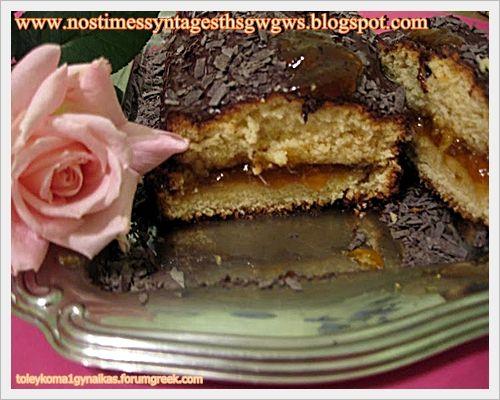 ΚΕΙΚ ΒΑΝΙΛΙΑΣ ΓΕΜΙΣΤΟ ΜΕ ΜΑΡΜΕΛΑΔΑ ΒΕΡΙΚΟΚΟ!!! | Νόστιμες Συνταγές της Γωγώς