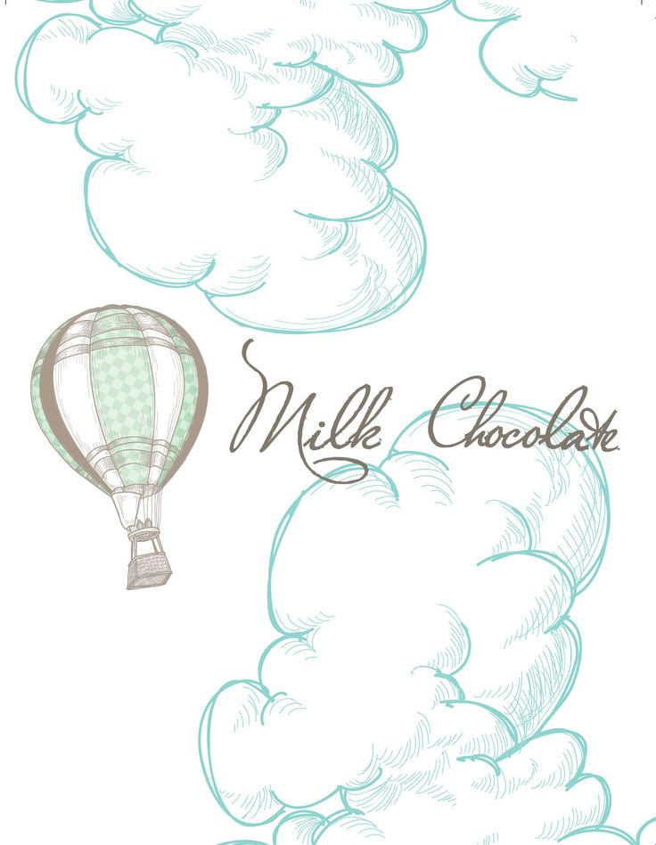 These Hot Air Balloon party printables - chocolate wrappers - form part of packages available from Concept-Designs. Email info@concept-designs.com.au today.