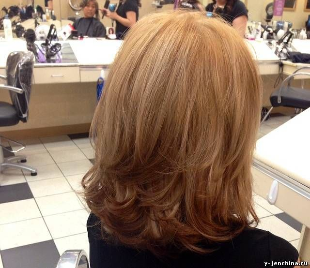 Стрижка слоями - объемная прическа на длинные и средние волосы
