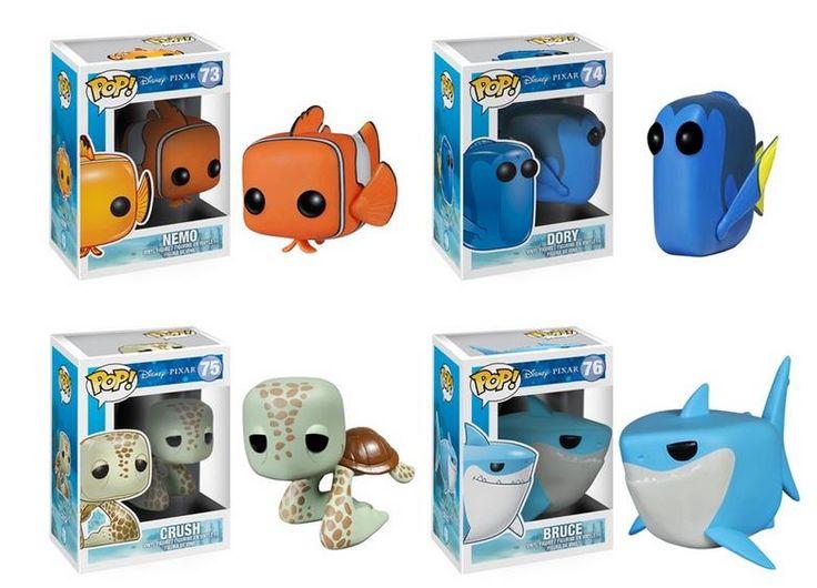 funko pop figures | Funko Pop! Disney: Finding Nemo Figures  Retrenders