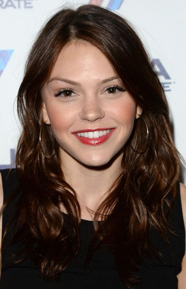 Aimee Teegarden's Deep Chocolate Waves