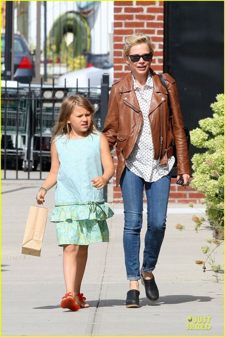 Michelle Williams celebrates her birthday with her daughter Matilda on September 9, 2013