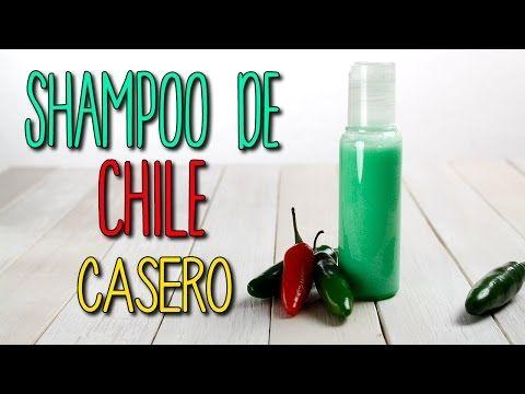 Receta de shampoo de chile / Recipe of chili shampoo - YouTube