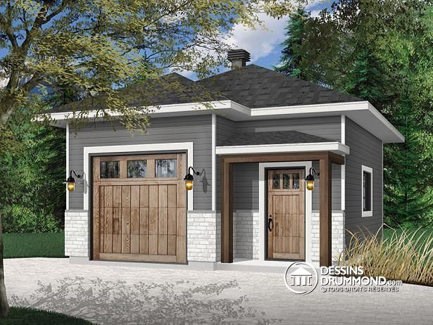 Plan De Garage Passat No 3996 En 2020 Design Garage Construction Garage Plan Maison