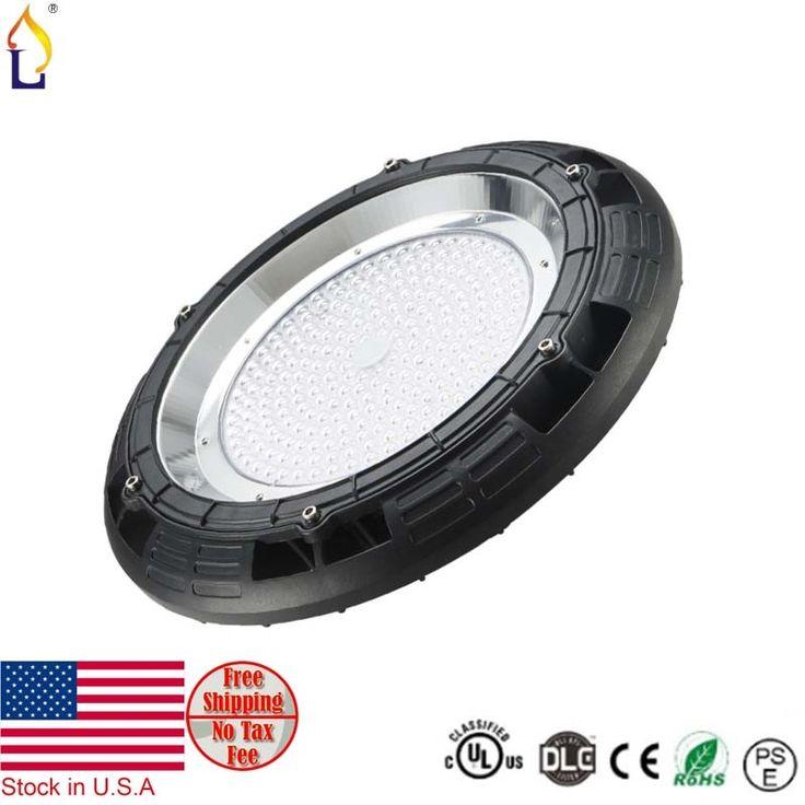 490.00$  Watch now - http://aliemc.shopchina.info/1/go.php?t=32813080024 - 5pcs/lot 100W UL DLC LED UFO High Bay Light SMD3030 LED Industrial Lamp IP67 Led Ceiling Spotlight 100-277V 5year warranty  #aliexpress