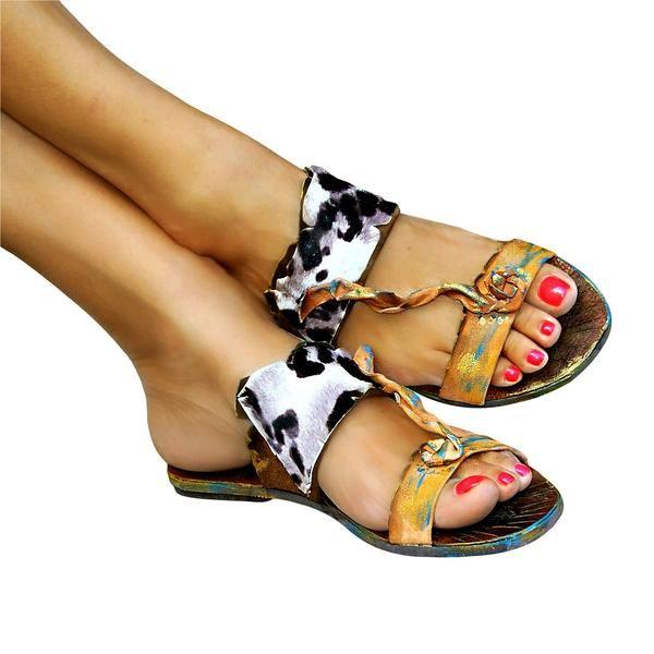 Afroditi 2 - flat sandal