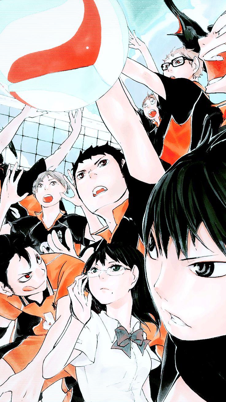 Karasuno Haikyuu!! Anime Haikyuu Pinterest
