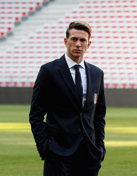 Federico Bernardeschi of Italy attends Italy walk around at Allianz Riviera Stadium on June 6, 2017 in Nice, France.