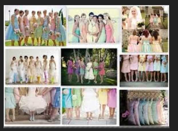Lots of dresses