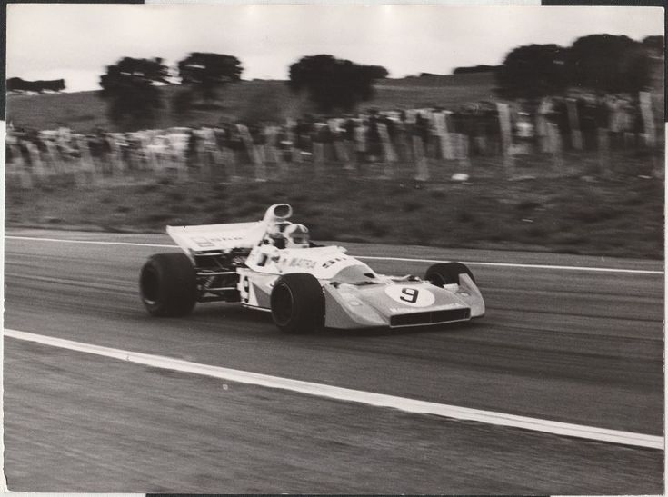CHRIS AMON MATRA MS120 D FRENCH GP CLERMONT 1972 F1 ORIGINAL PERIOD PHOTOGRAPH