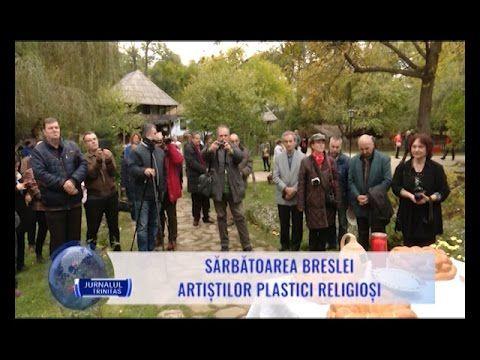 Sărbătoarea breslei artiștilor plastici religioși, in cadrul Jurnal TRINITAS TV, 18 octombrie 2016