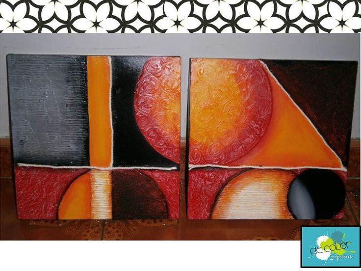cuadro decorativo para sala cuadros pinterest On cuadro decorativo sala