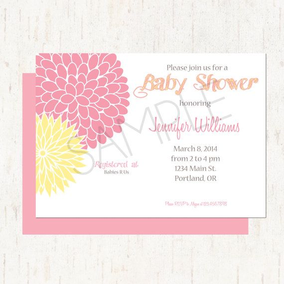 87 best baby shower images – Garden Party Baby Shower Invitations