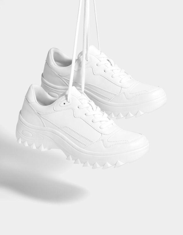 e097e0e640a Women's Shoes - Spring Summer 2019 | Bershka | FA20 in 2019 | White ...