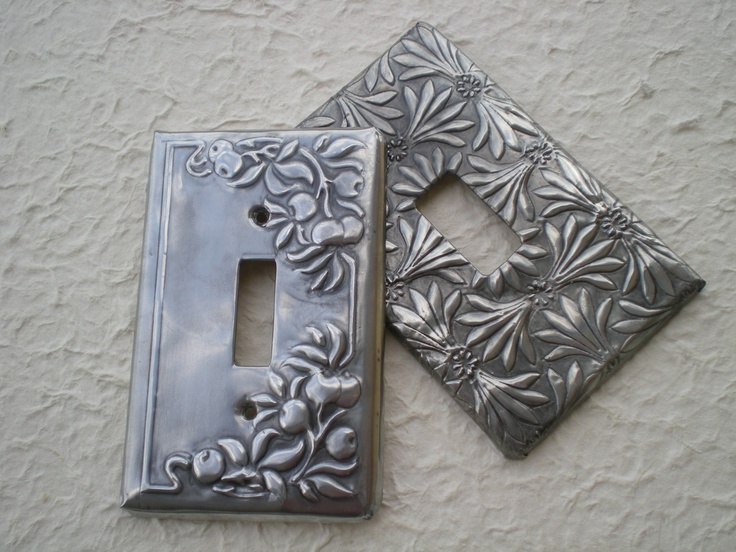 pewter light switches