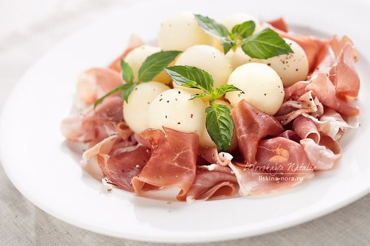 fs: melon with parma ham... | foodStyling | Pinterest