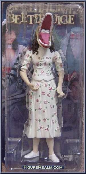 NECA Beetlejuice Stretched Face Barbara Figure 2001