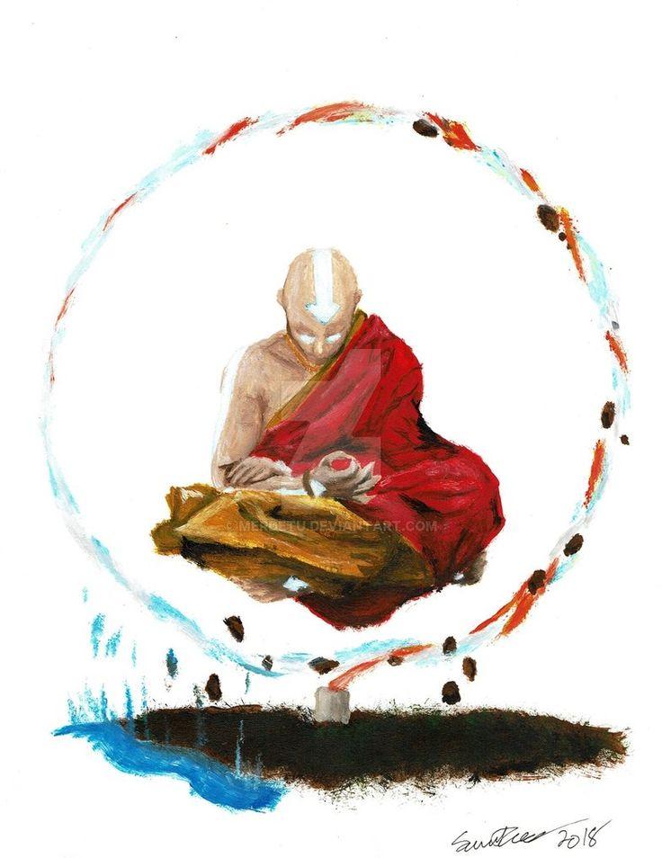 "The ""Avatar : The Last Airbender (Fanart)"" Painting Avatar: The Last Airbender (Fanart) by S.M. TOZER www.deviantart.co… on @DeviantArt"