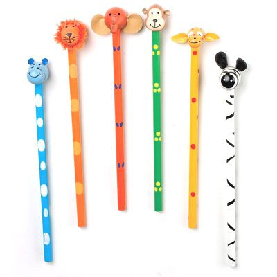Jungle Pencil - childrens party bag filler
