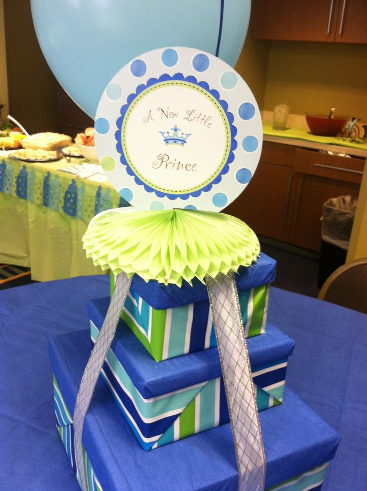 17 best images about baby shower ideas on pinterest bow ties cakes and the little prince - Deco boy ...