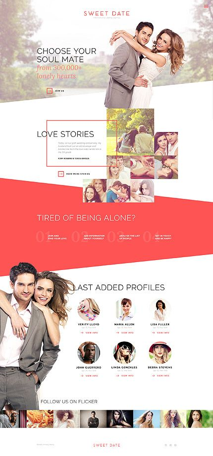 Dating Portal #website #template. #themes #business #responsive #websitethemes