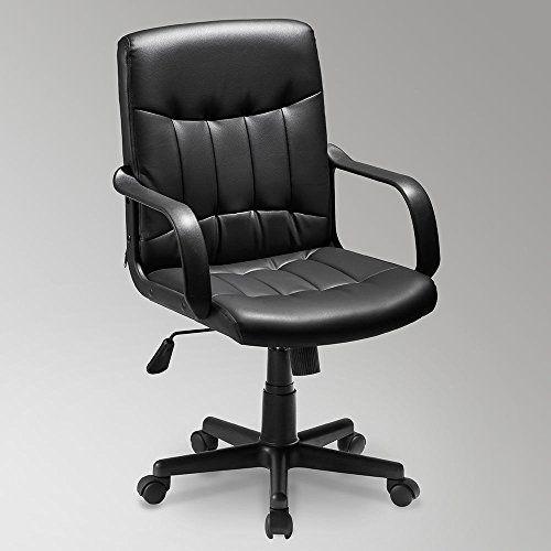 Small Office Chair Cheap Task Chair Study Chair Meeting Room Swivel Chair Medium Back