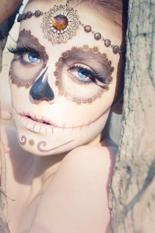 Sugar skull emblishments . Forbidden Enchantment. Day of the dead.