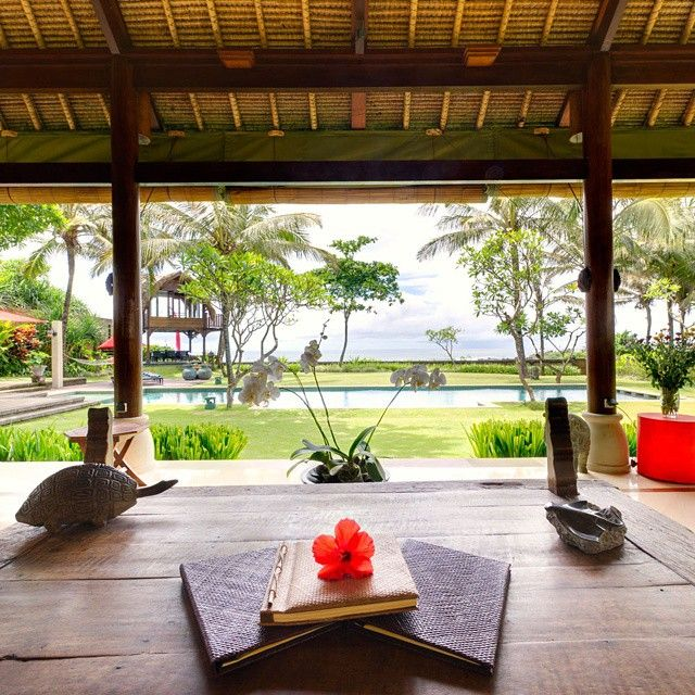 Villa Maridadi is a #beautiful five-bedroom #beachfront home nestled between #ricefields and the ocean in the traditional village of Cemagi on Bali's south-west #coast. With #traditional alang-alang...
