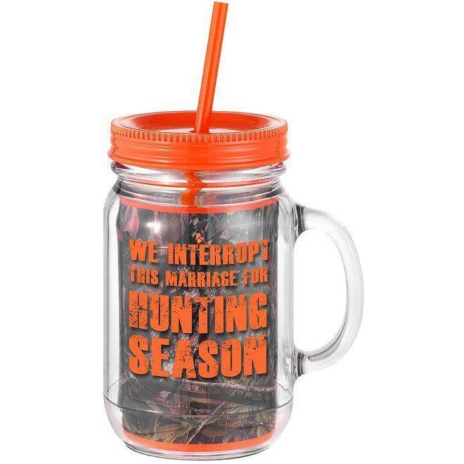 Hunting Season Mason Jar Mug