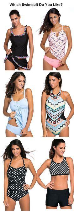 Hot Sale Tankini Swimsuits and One Piece Swimsuits, Bikinis On Lulugal.com
