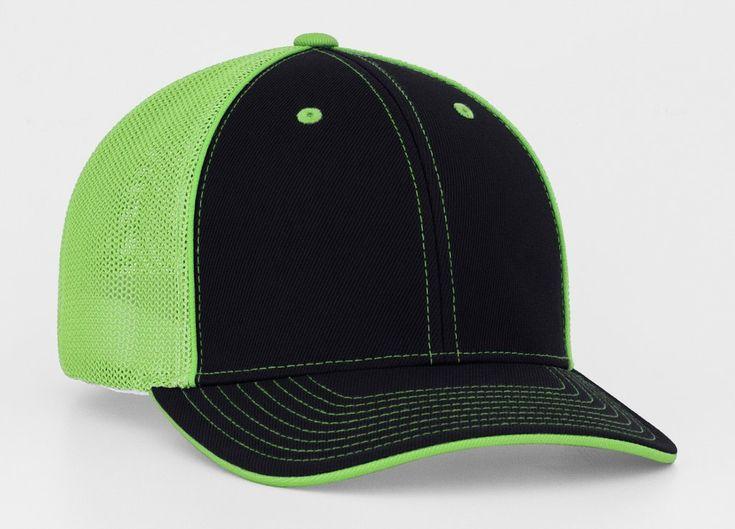 753f7d68 Black Neon Green Mesh Trucker Hat | Livin' on a Prairie Products | Black  neon, Hats, Blank hats