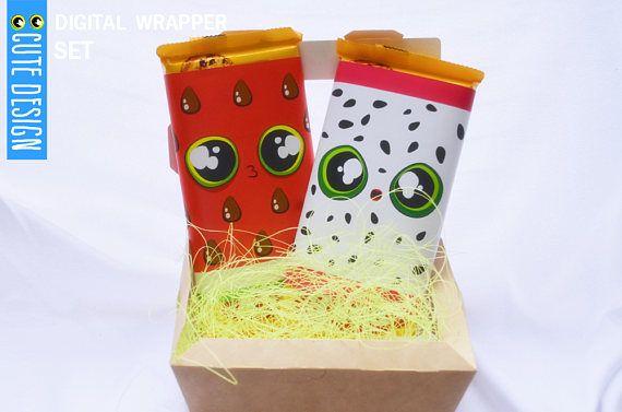 BUY 2 GET 1 FREE  Wrapper pack digital  Cute Watermelon