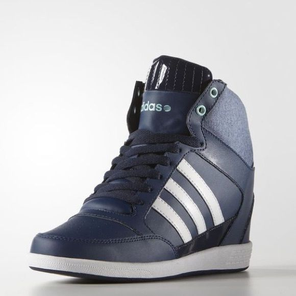 """ON HOLD Adidas Super Wedge Womens Adidas Wedge, 2.5"""" wedge heel No Trades on hold for vanessamejia $63 Adidas Shoes Sneakers"""
