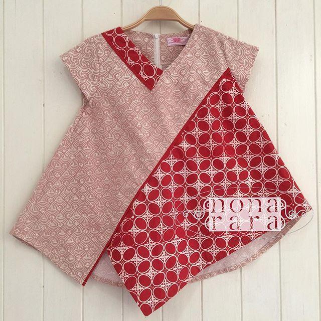 B100641 - IDR210.000 Bustline : 86cm Fabric: Batik Cap Garut