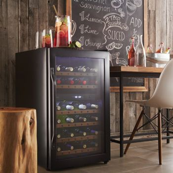 Costco: Danby® DWC040A2BDB Rustic Dual Zone 38-bottle Wine Cellar: Dual Zone, Dwc040A2Bdb Rustic, Rustic Dual, Cellars 339 99, Beauty Wine, 38 Bottle Wine, Wine Cellars, Wine Coolers, Danbi Appliances