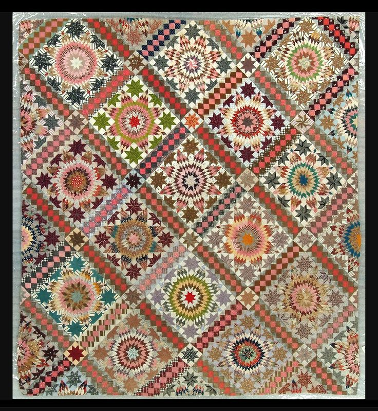 mid 1800 quilt What a beauty !
