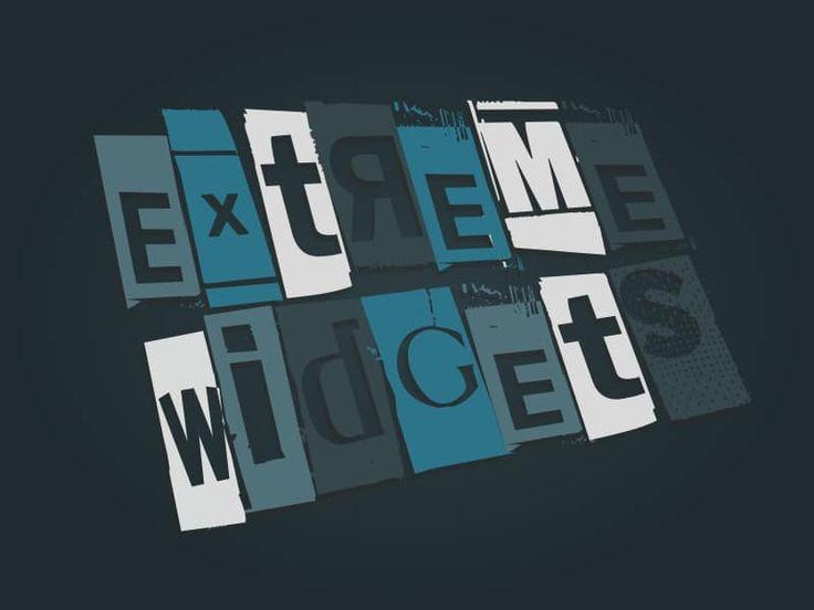 EXTREME WIDGETS | SOS Marketing