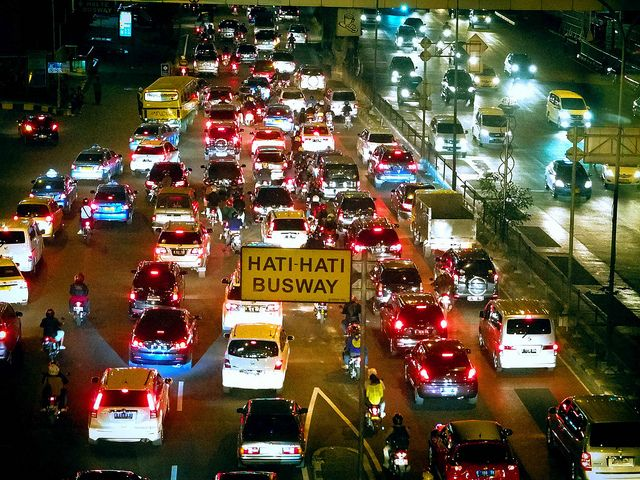 #Nightlife on the road #jakarta