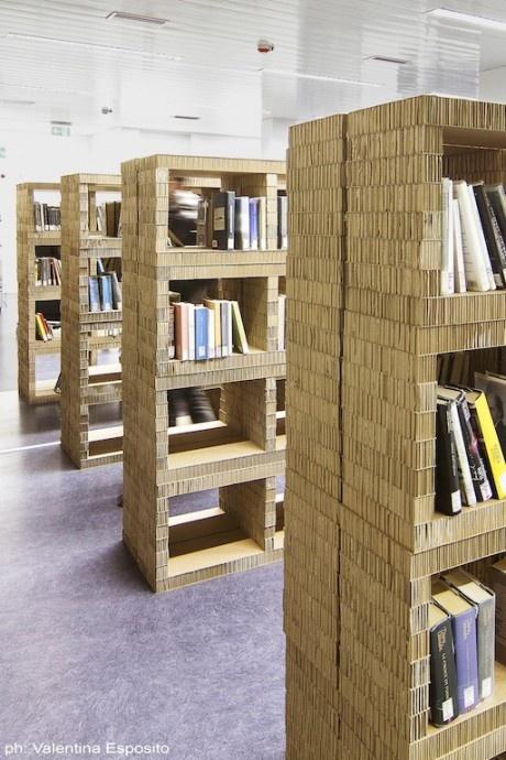 A CARDBOARD LIBRARY
