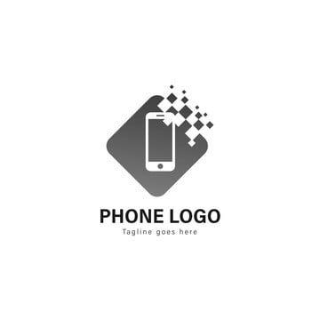 الهواتف الذكية الهواتف الذكية شعار قوالب تصميم الشعار مع إطار الحديث