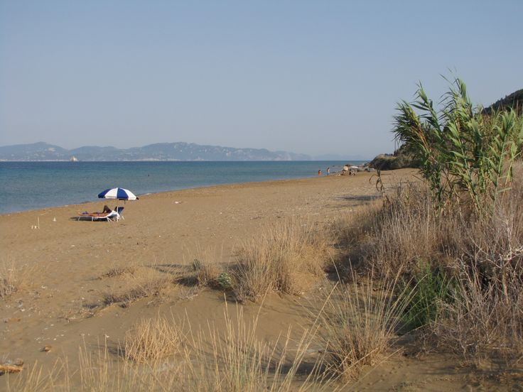 Portelo beach, Mathraki, Diapontia islands, Greece