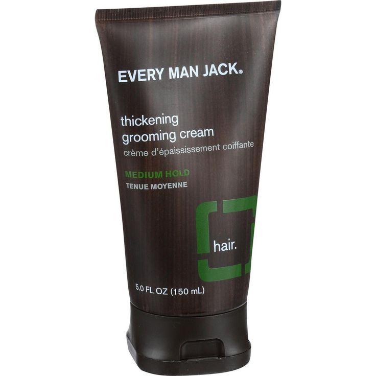 Every Man Jack Thickening Grooming Cream - Medium Hold - 5 Oz